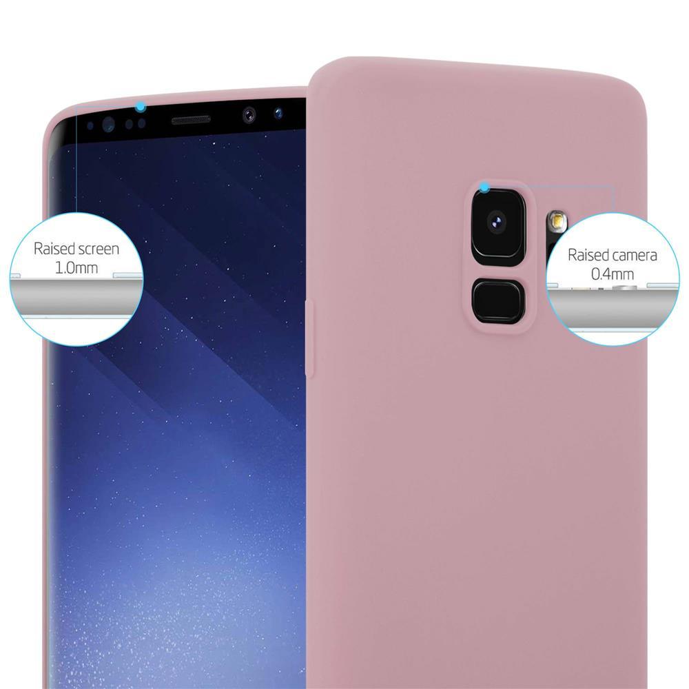 Custodia-Cover-Silicone-per-Samsung-Galaxy-S9-TPU-Case-Protettiva miniatura 16