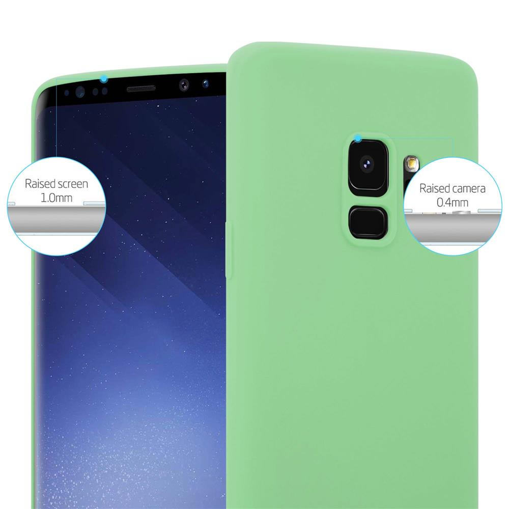 Custodia-Cover-Silicone-per-Samsung-Galaxy-S9-TPU-Case-Protettiva miniatura 23