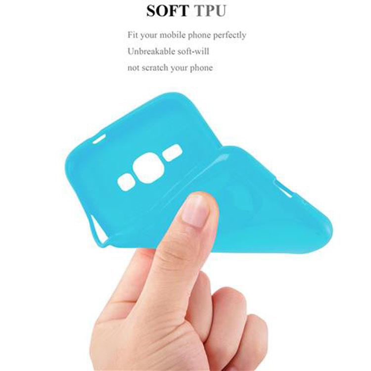 Custodia-Cover-Silicone-per-Samsung-Galaxy-J1-2015-Morbida-TPU-Case miniatura 29