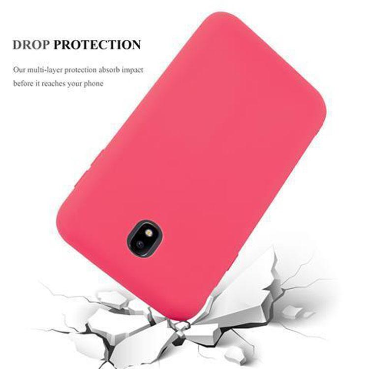 Custodia-Cover-Silicone-per-Samsung-Galaxy-J7-2017-TPU-Case-Protettiva miniatura 7
