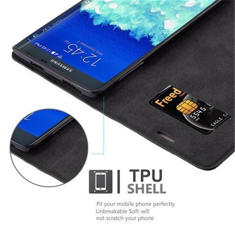Custodia-per-Samsung-Galaxy-NOTE-EDGE-Portafoglio-Cover-Case-Magnetica-Libro miniatura 13