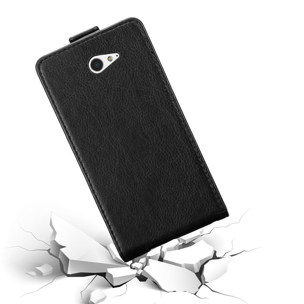 Custodia-per-Sony-Xperia-M2-M2-AQUA-FLIP-Cover-Protezione-Case-Conchiglia miniatura 13