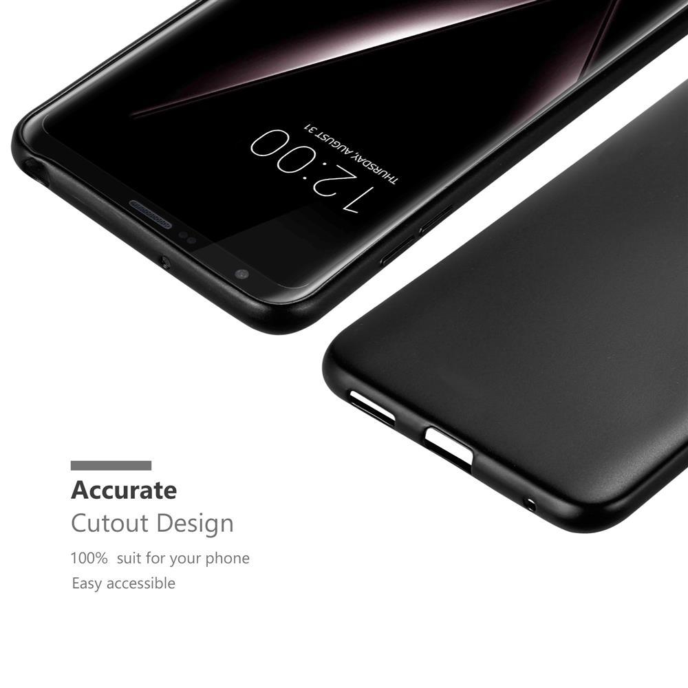 Custodia-Cover-Silicone-per-LG-V30-TPU-Case-Metallico-Opaco miniatura 9