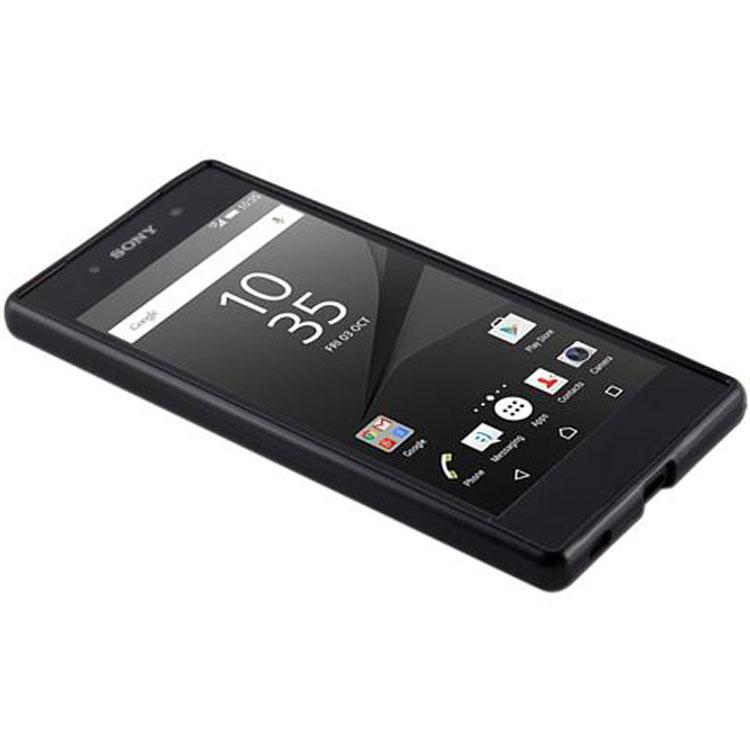 Custodia-Cover-Silicone-per-Sony-Xperia-Z5-TPU-Case-Ultra-Sottile miniatura 25