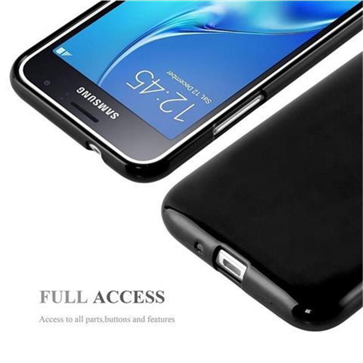 Custodia-Cover-Silicone-per-Samsung-Galaxy-J1-2015-Morbida-TPU-Case miniatura 8