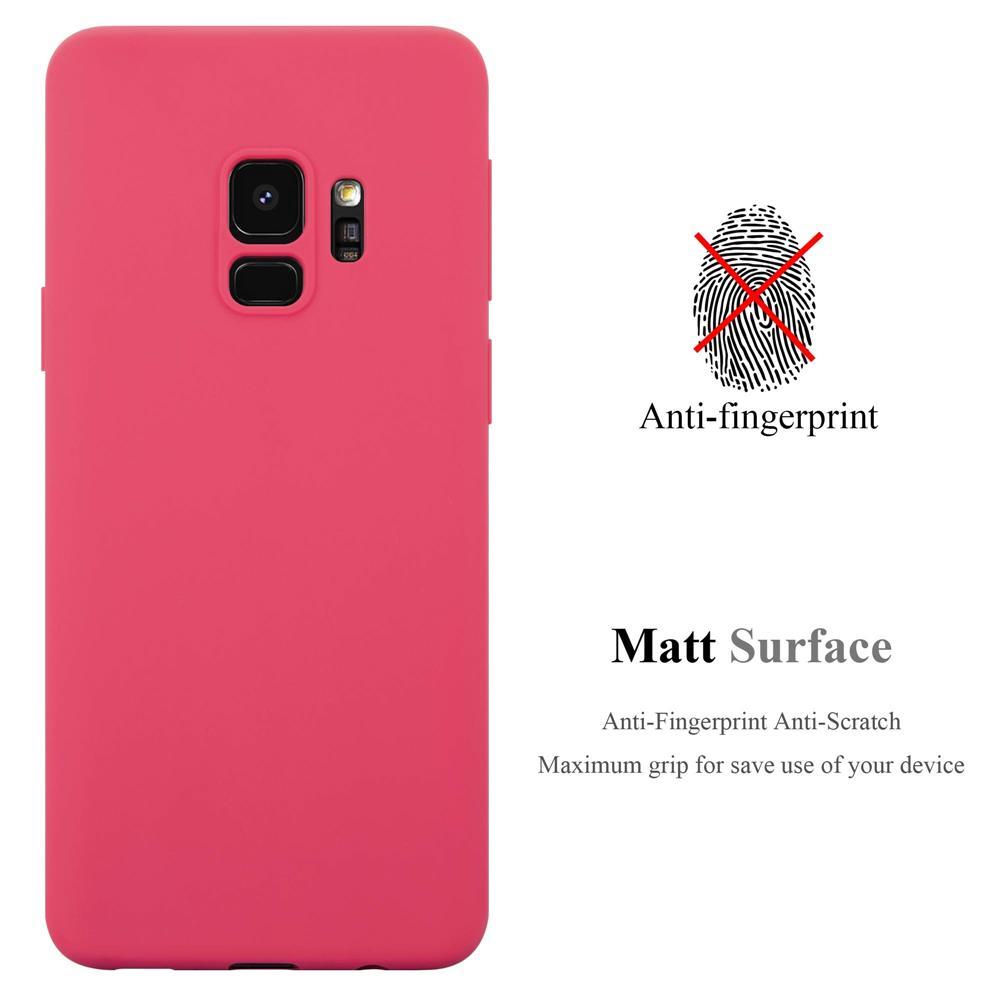 Custodia-Cover-Silicone-per-Samsung-Galaxy-S9-TPU-Case-Protettiva miniatura 11