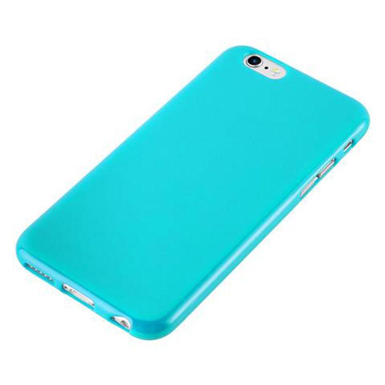 Custodia-Cover-Silicone-per-Apple-iPhone-6-6S-Morbida-TPU-Case miniatura 26