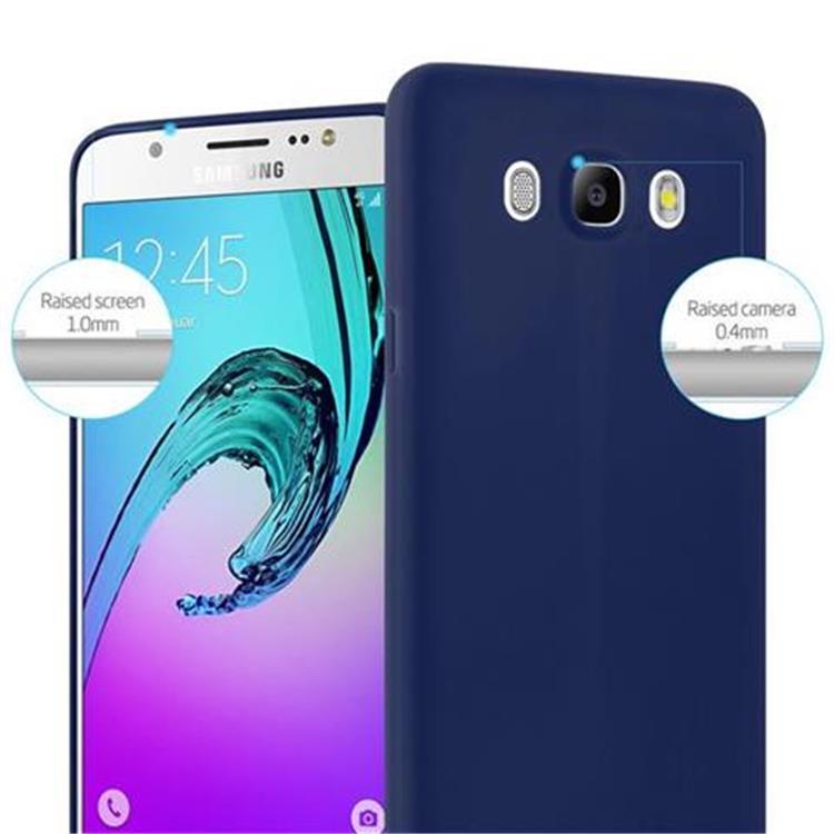 Custodia-Cover-Silicone-per-Samsung-Galaxy-J5-2016-TPU-Case-Protettiva miniatura 31
