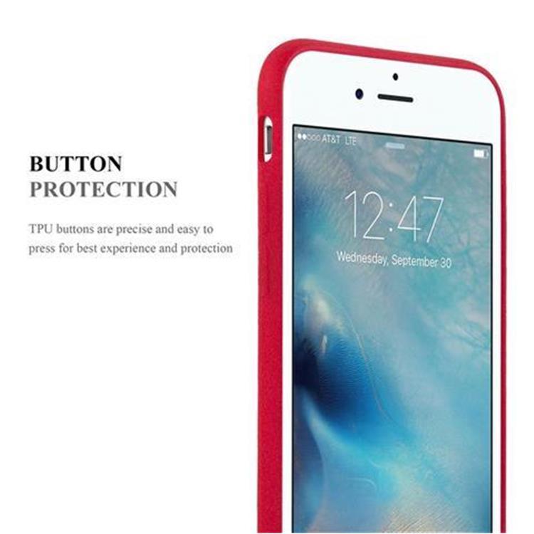 Custodia-Cover-Silicone-per-Apple-iPhone-6-iPhone-6S-TPU-Case-Bumper-Guscio miniatura 12
