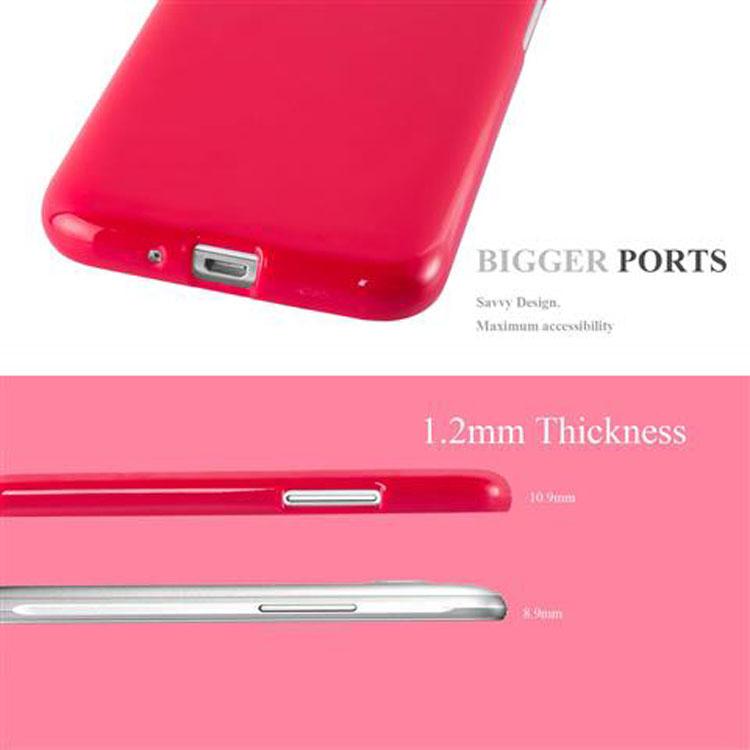 Custodia-Cover-Silicone-per-Samsung-Galaxy-J1-2015-Morbida-TPU-Case miniatura 12