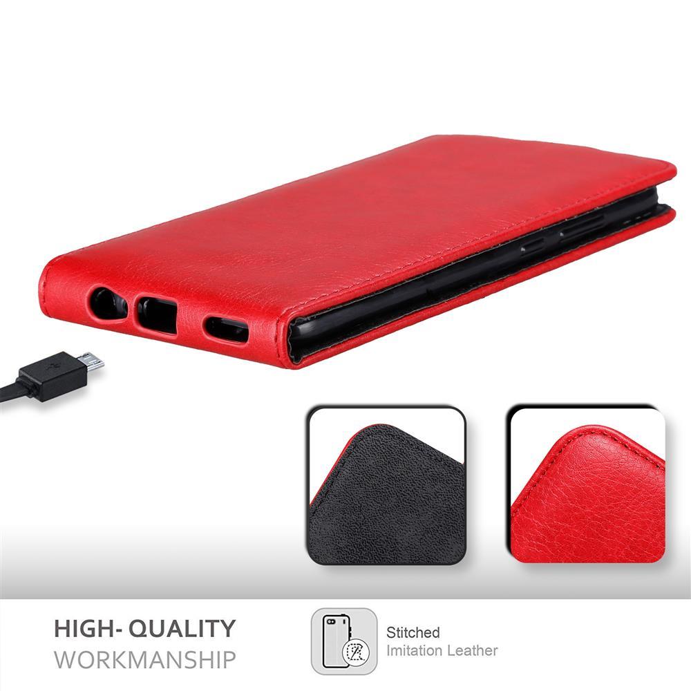 Custodia-per-Honor-8-PRO-FLIP-Cover-Protezione-Case-Conchiglia miniatura 9