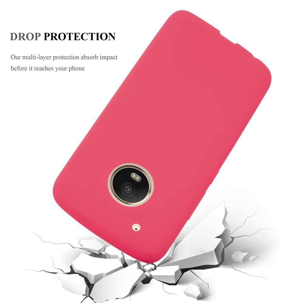 Custodia-Cover-Silicone-per-Motorola-MOTO-G5-PLUS-TPU-Case-Protettiva miniatura 7
