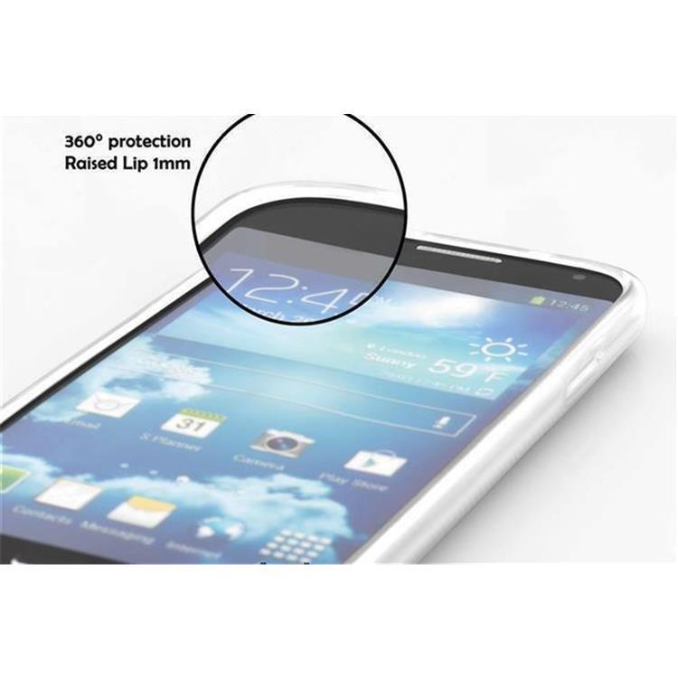 Custodia-Cover-Silicone-per-Huawei-P8-LITE-2015-TPU-Case-Effetto-Acciaio miniatura 15