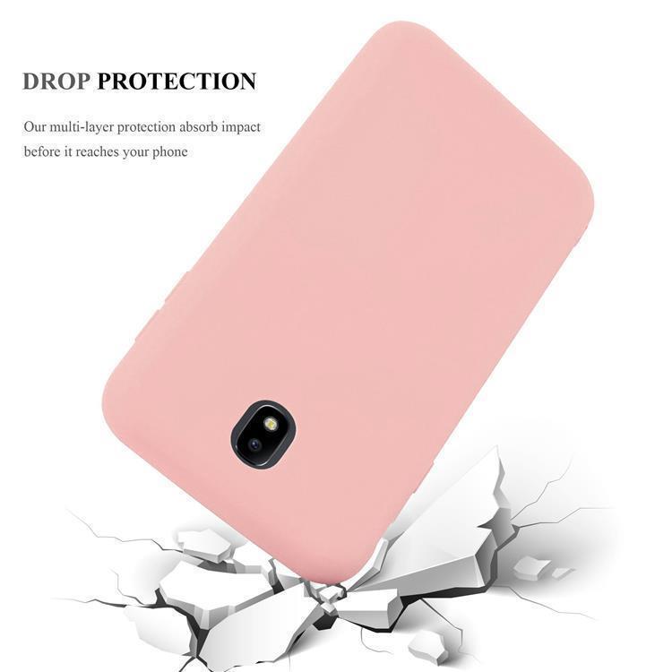 Custodia-Cover-Silicone-per-Samsung-Galaxy-J7-2017-TPU-Case-Protettiva miniatura 14