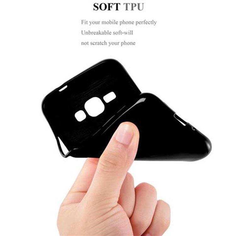 Custodia-Cover-Silicone-per-Samsung-Galaxy-J1-2015-Morbida-TPU-Case miniatura 9