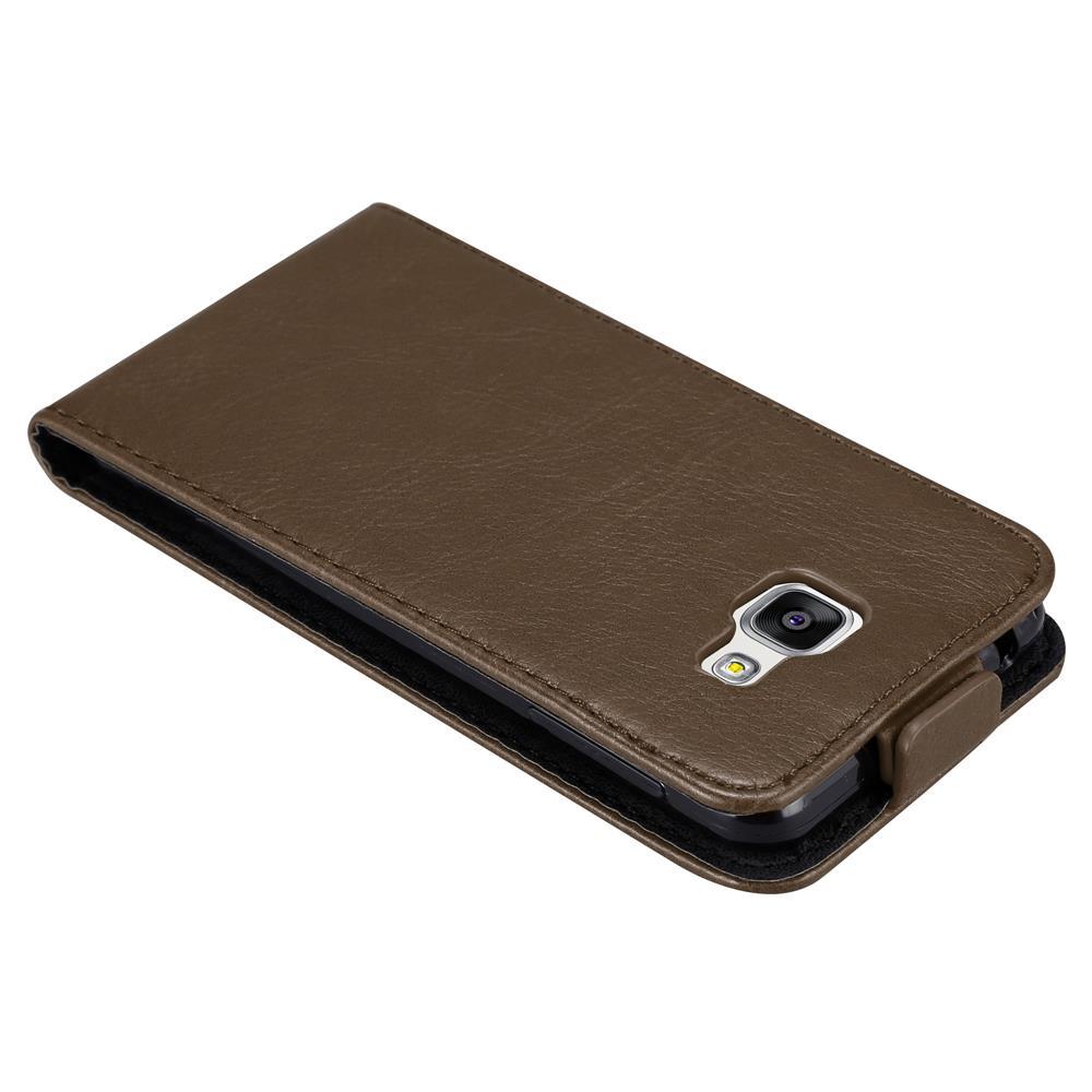 Custodia-per-Samsung-Galaxy-A3-2016-FLIP-Cover-Protezione-Case-Conchiglia miniatura 17