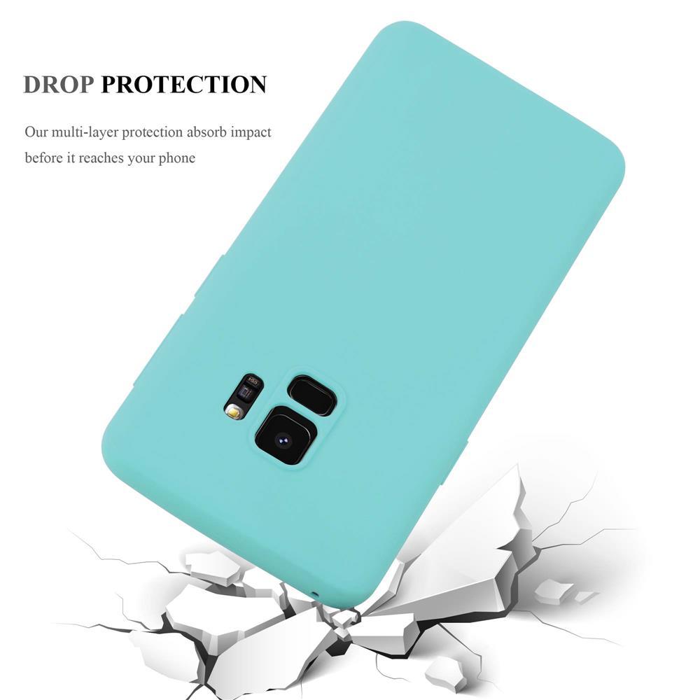 Custodia-Cover-Silicone-per-Samsung-Galaxy-S9-TPU-Case-Protettiva miniatura 42