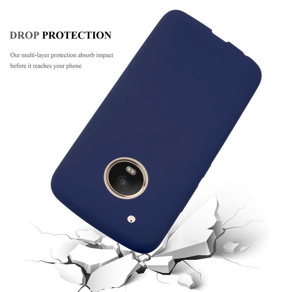 Custodia-Cover-Silicone-per-Motorola-MOTO-G5-PLUS-TPU-Case-Protettiva miniatura 28