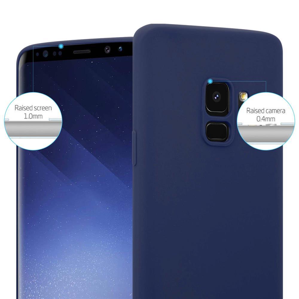 Custodia-Cover-Silicone-per-Samsung-Galaxy-S9-TPU-Case-Protettiva miniatura 30
