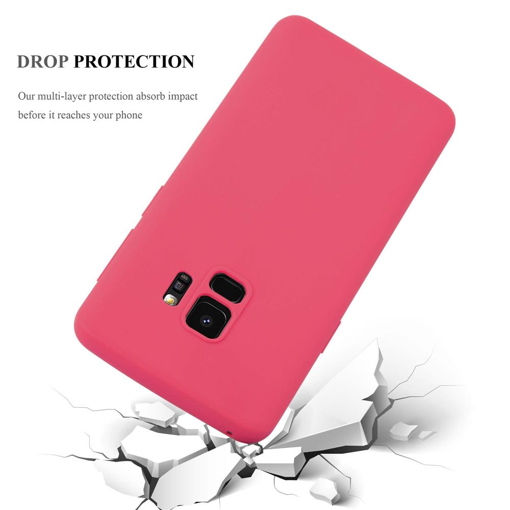 Custodia-Cover-Silicone-per-Samsung-Galaxy-S9-TPU-Case-Protettiva miniatura 7