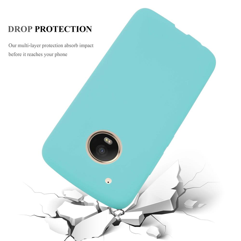 Custodia-Cover-Silicone-per-Motorola-MOTO-G5-PLUS-TPU-Case-Protettiva miniatura 42