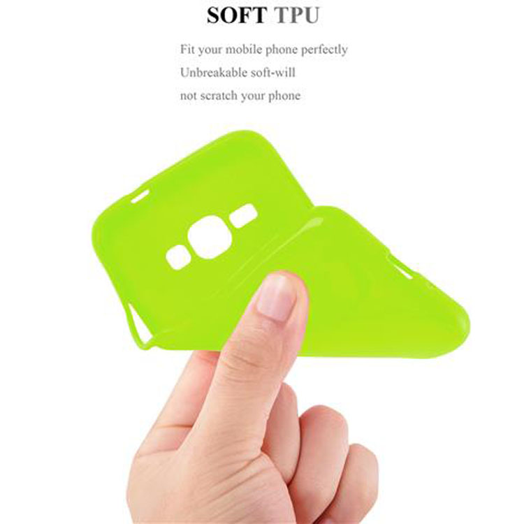 Custodia-Cover-Silicone-per-Samsung-Galaxy-J1-2015-Morbida-TPU-Case miniatura 19