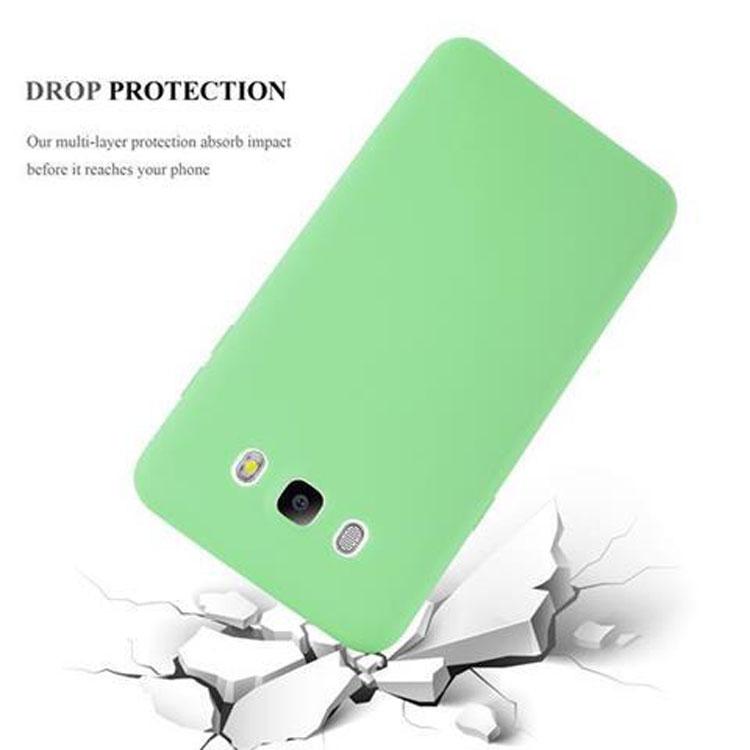 Custodia-Cover-Silicone-per-Samsung-Galaxy-J5-2016-TPU-Case-Protettiva miniatura 22