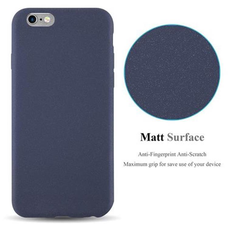 Custodia-Cover-Silicone-per-Apple-iPhone-6-iPhone-6S-TPU-Case-Bumper-Guscio miniatura 18