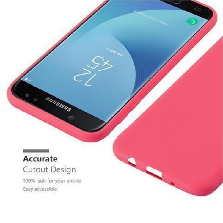 Custodia-Cover-Silicone-per-Samsung-Galaxy-J7-2017-TPU-Case-Protettiva miniatura 10
