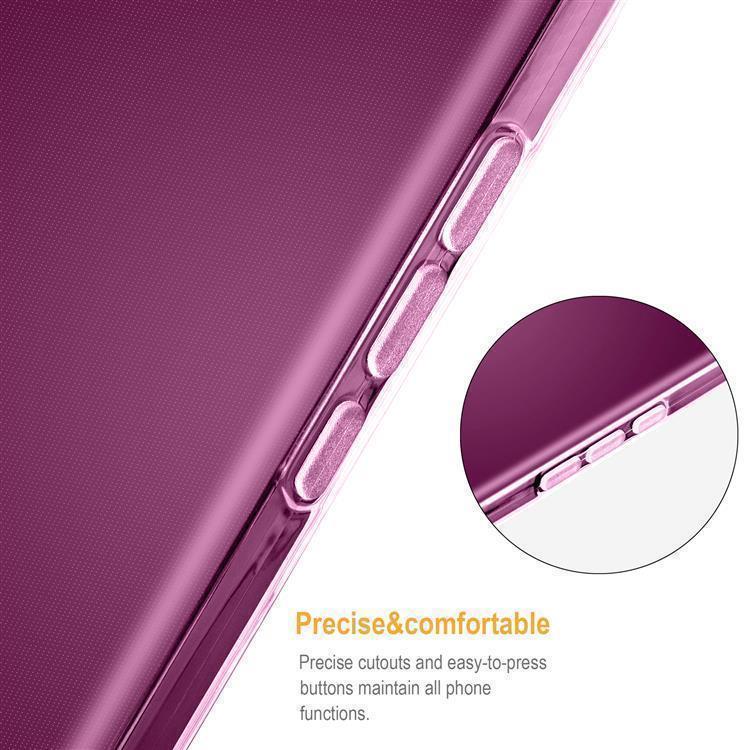 Custodia-Cover-Silicone-per-HTC-One-X9-TPU-Case-Ultra-Sottile miniatura 14