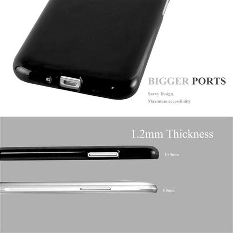 Custodia-Cover-Silicone-per-Samsung-Galaxy-J1-2015-Morbida-TPU-Case miniatura 7