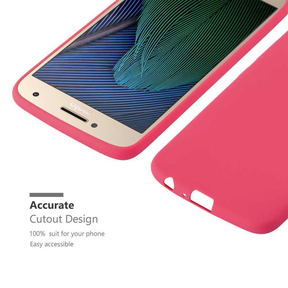 Custodia-Cover-Silicone-per-Motorola-MOTO-G5-PLUS-TPU-Case-Protettiva miniatura 10