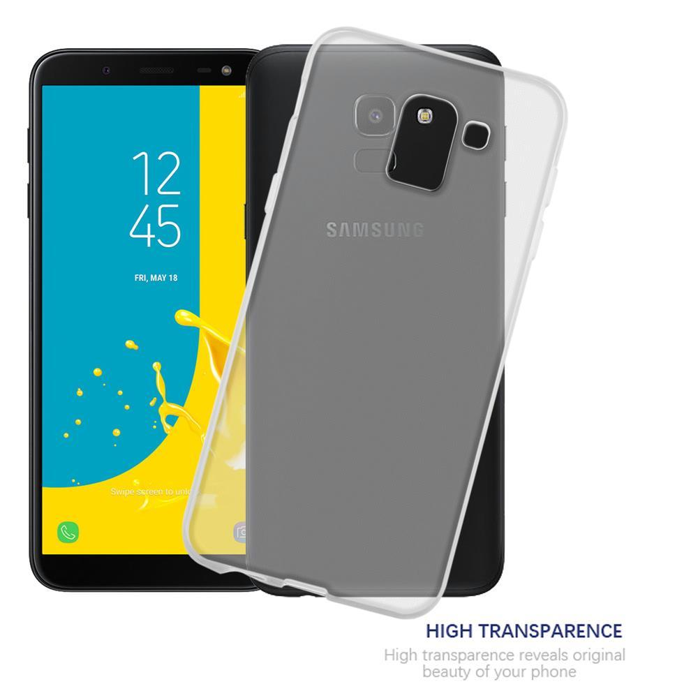 Custodia-Cover-Silicone-per-Samsung-Galaxy-J6-2018-TPU-Case-Ultra-Sottile miniatura 9