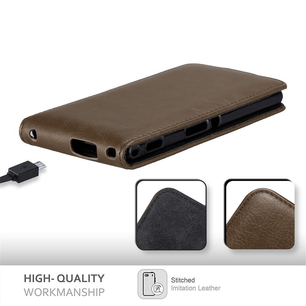 Custodia-per-Sony-Xperia-M2-M2-AQUA-FLIP-Cover-Protezione-Case-Conchiglia miniatura 19