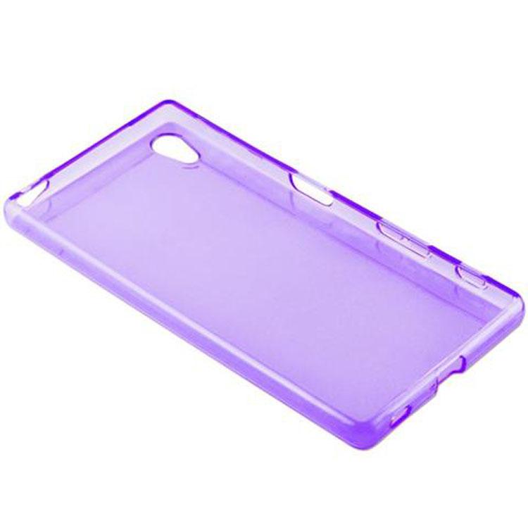 Custodia-Cover-Silicone-per-Sony-Xperia-Z5-TPU-Case-Ultra-Sottile miniatura 36