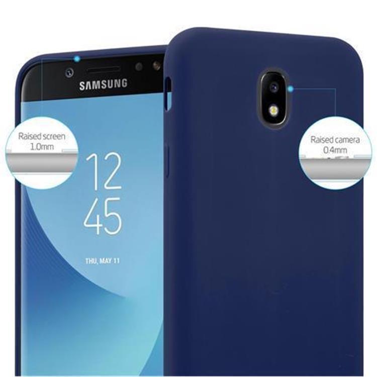 Custodia-Cover-Silicone-per-Samsung-Galaxy-J7-2017-TPU-Case-Protettiva miniatura 30