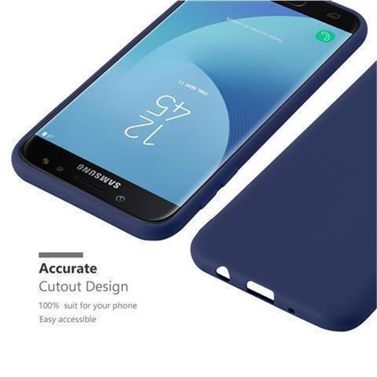 Custodia-Cover-Silicone-per-Samsung-Galaxy-J7-2017-TPU-Case-Protettiva miniatura 31