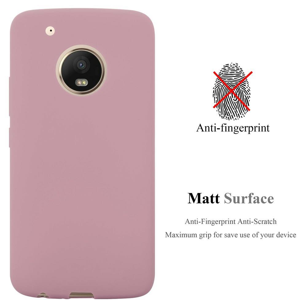 Custodia-Cover-Silicone-per-Motorola-MOTO-G5-PLUS-TPU-Case-Protettiva miniatura 18