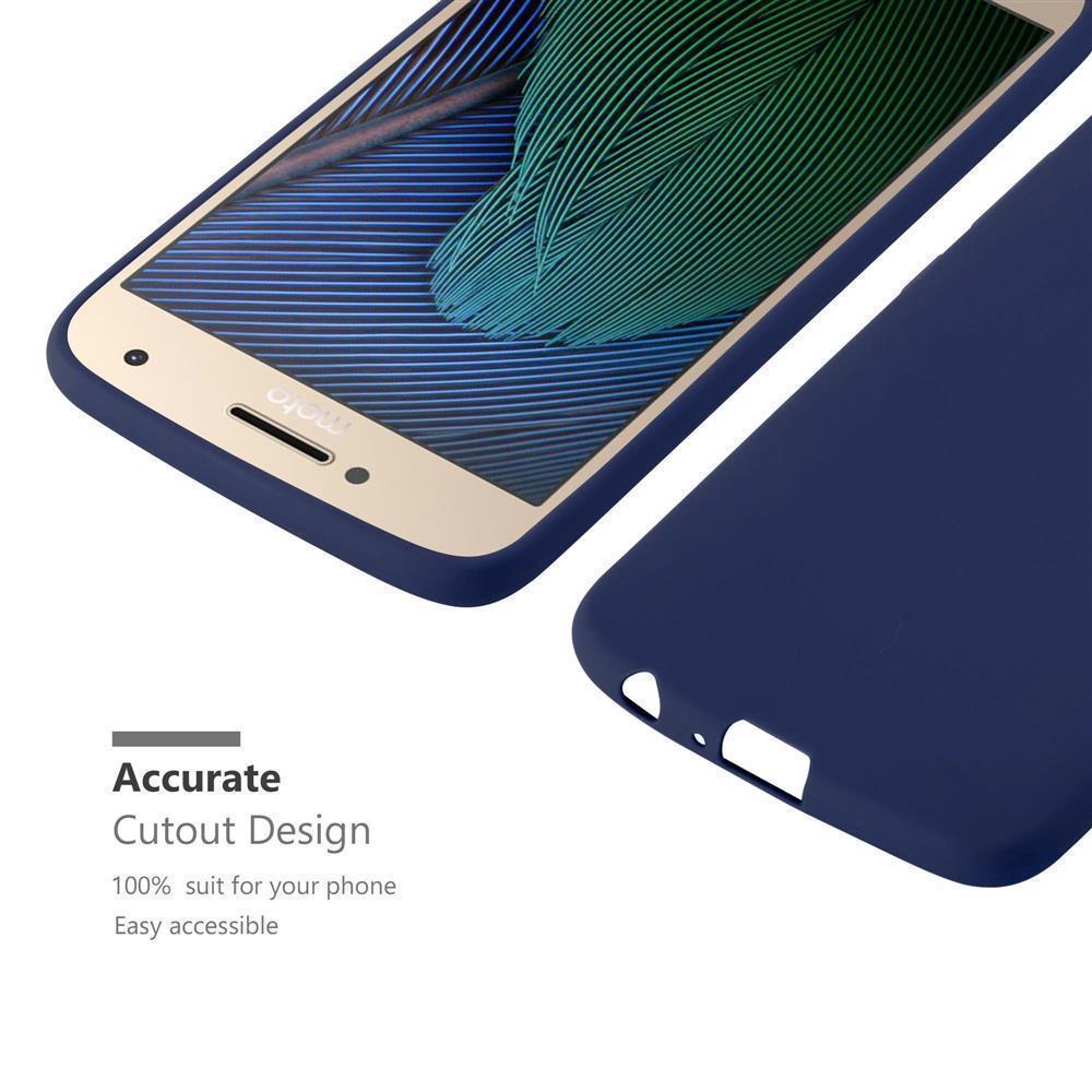 Custodia-Cover-Silicone-per-Motorola-MOTO-G5-PLUS-TPU-Case-Protettiva miniatura 31