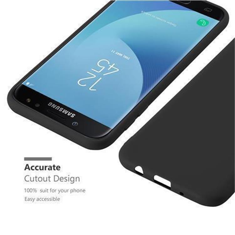 Custodia-Cover-Silicone-per-Samsung-Galaxy-J7-2017-TPU-Case-Protettiva miniatura 38