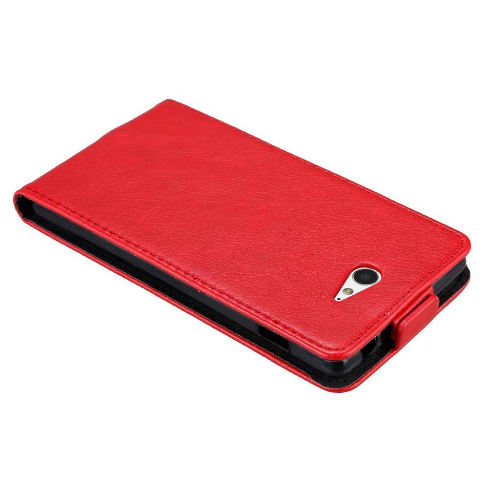 Custodia-per-Sony-Xperia-M2-M2-AQUA-FLIP-Cover-Protezione-Case-Conchiglia miniatura 7