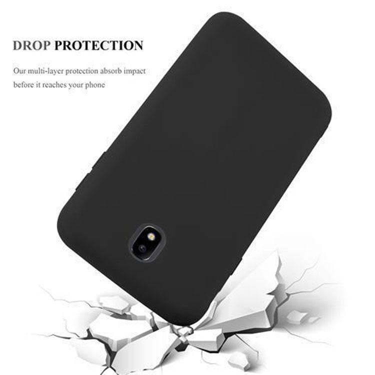 Custodia-Cover-Silicone-per-Samsung-Galaxy-J7-2017-TPU-Case-Protettiva miniatura 35