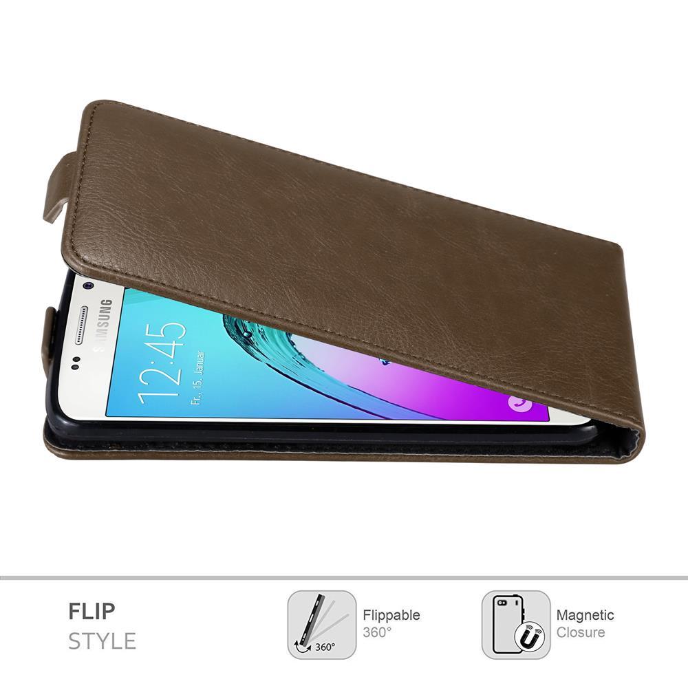 Custodia-per-Samsung-Galaxy-A3-2016-FLIP-Cover-Protezione-Case-Conchiglia miniatura 16