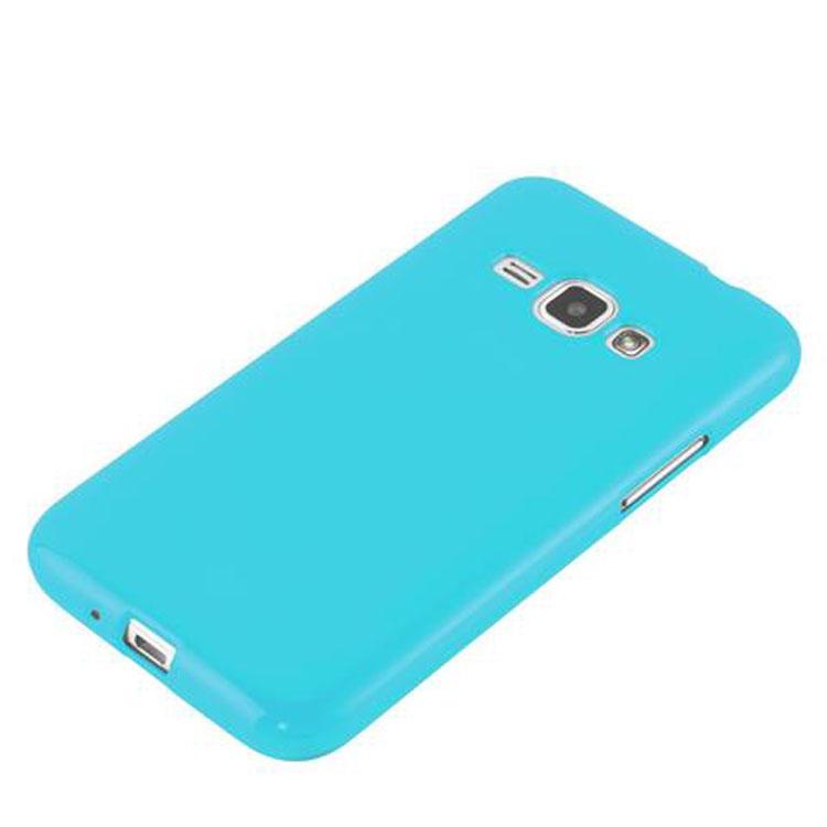 Custodia-Cover-Silicone-per-Samsung-Galaxy-J1-2015-Morbida-TPU-Case miniatura 26