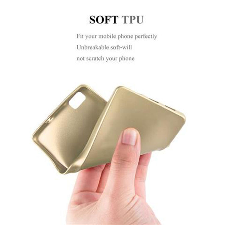 Custodia-Cover-Silicone-per-Huawei-P8-LITE-2015-TPU-Case-Metallico-Opaco miniatura 21