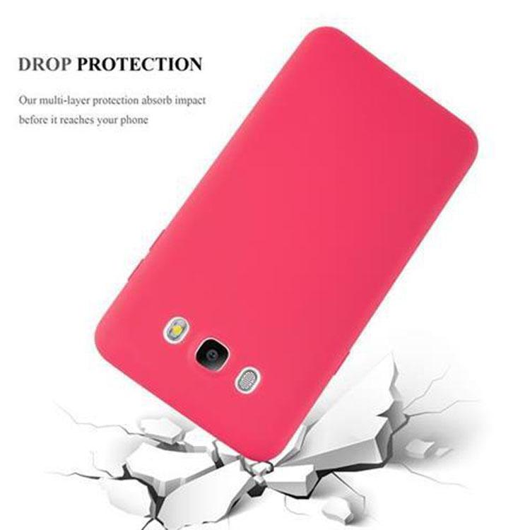 Custodia-Cover-Silicone-per-Samsung-Galaxy-J5-2016-TPU-Case-Protettiva miniatura 8