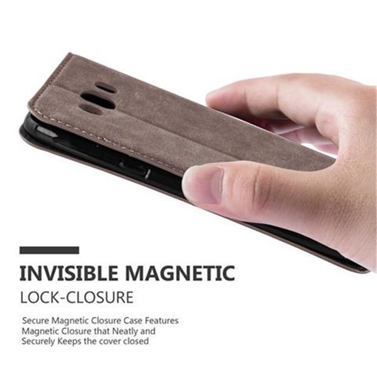 Custodia-per-Samsung-Galaxy-J7-2016-Portafoglio-Cover-Case-Magnetica-Libro miniatura 15