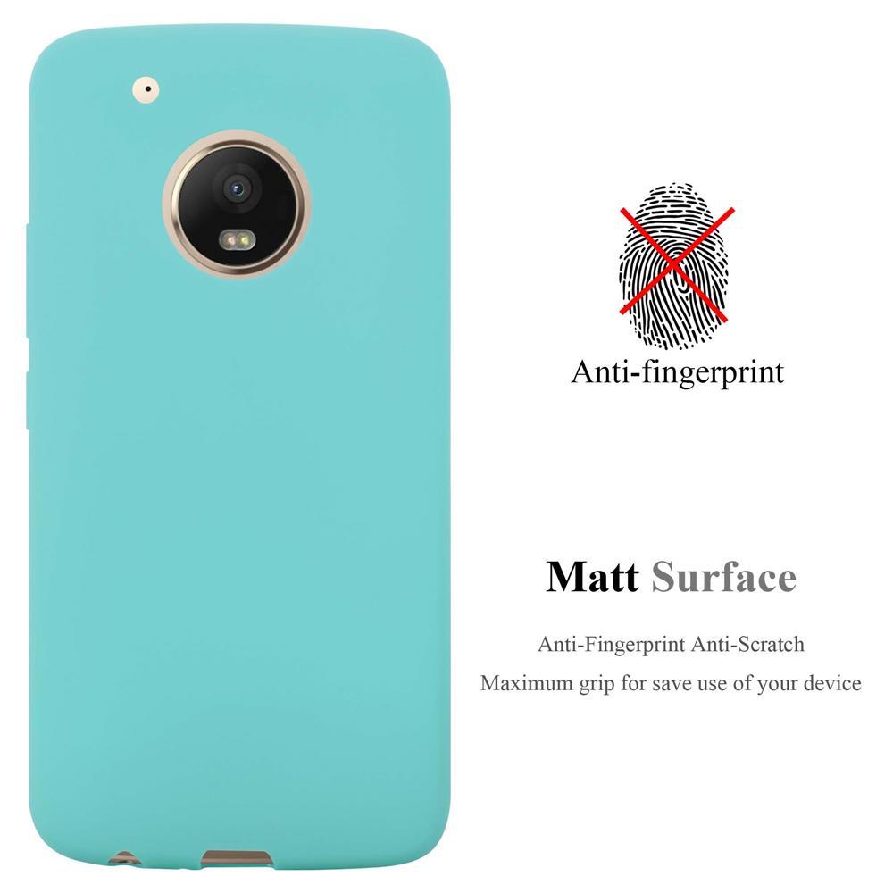 Custodia-Cover-Silicone-per-Motorola-MOTO-G5-PLUS-TPU-Case-Protettiva miniatura 46