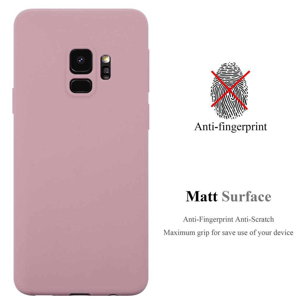 Custodia-Cover-Silicone-per-Samsung-Galaxy-S9-TPU-Case-Protettiva miniatura 18