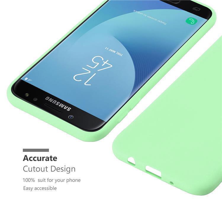 Custodia-Cover-Silicone-per-Samsung-Galaxy-J7-2017-TPU-Case-Protettiva miniatura 24